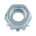Hexagon nuts with washers