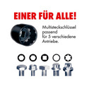 1/4 Zoll Multi-Steckschlüssel-Satz Black Edition - STESHSL-SORT-1/4ZO-BLACK-24TLG - 2