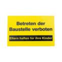 Hinweis-, Gebots-, Verkehrskennzeichnung