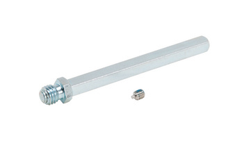 Steel door spindle With threaded roller and front drill hole