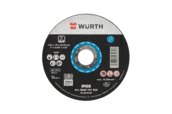 Speed cutting disc for steel