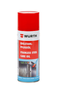 Stainless steel care oil