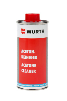 Acetone cleaner