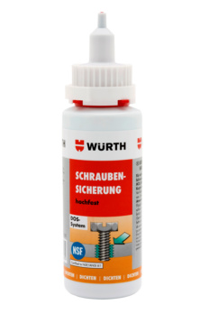 High-strength screw retainer