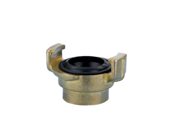 Hose coupling threaded fitting with female thread