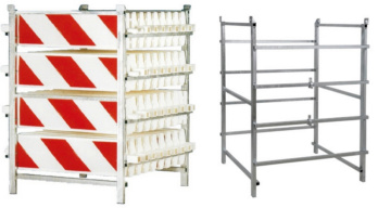 Storage and transport rack