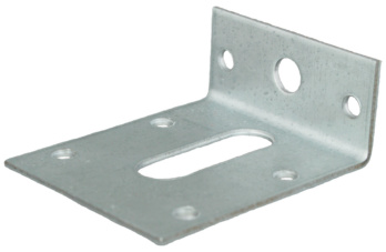 Hoekverbinder staal sendzimir verzinkt