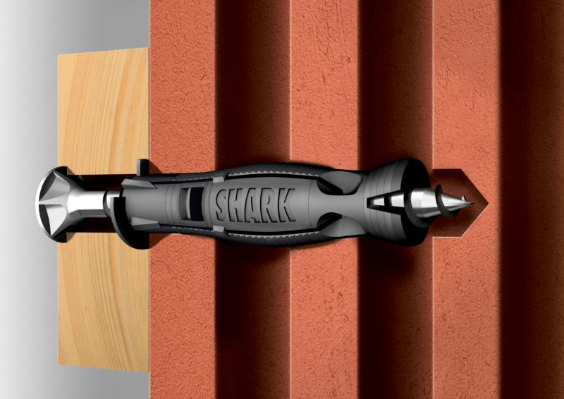 Kunststoff-Allzweckdübel SHARK Pro<SUP>®</SUP> - 0