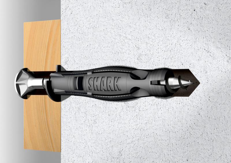Kunststoff-Allzweckdübel SHARK Pro<SUP>®</SUP> - 2