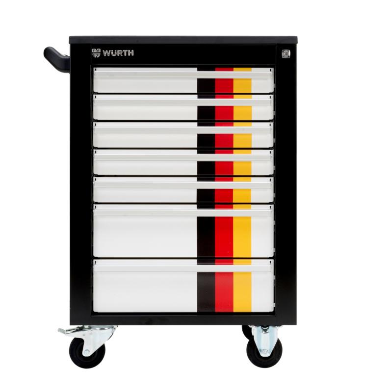 Werkstattwagen Standard Deutschland-Edition - WRKSTWG-TLSYS-S7-TOP-(WM-EDITION)