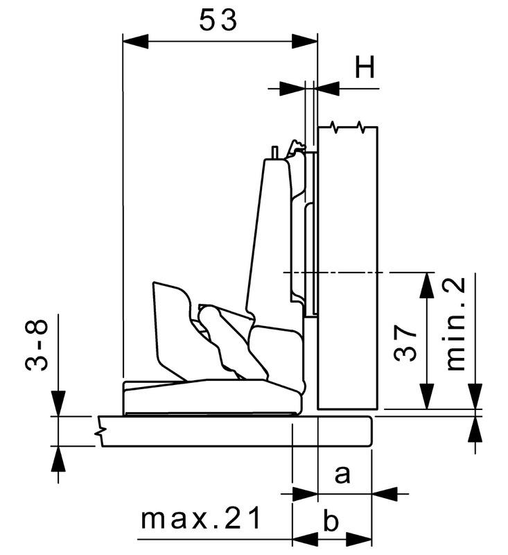 glas und spiegelt rscharnier nexis mirro set 2 w rth. Black Bedroom Furniture Sets. Home Design Ideas
