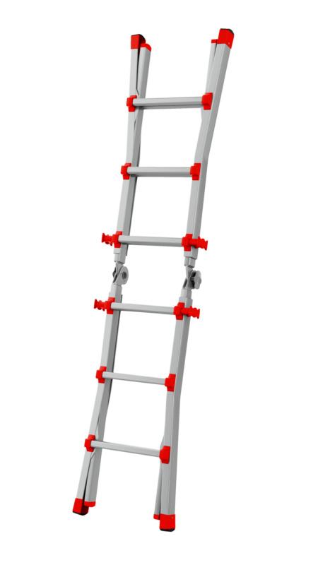 Alu-Profi-Teleskopleiter - TSKOPLTR-PROFI-ALU-TRAV-4X4SPRO