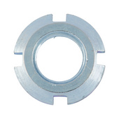 Slotted round nuts f. hook spanner