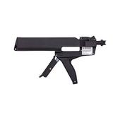 Dual cartridge gun