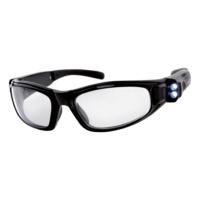 Védőszemüveg LED-del