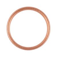 Tömítőgyűrű, vörösréz tömítő, C forma