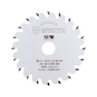 Kreissägeblatt Holz für Akku-Handkreissäge HKS 10-A/12-A