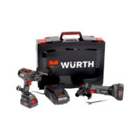 Kit de machines sur batterie  BS 18-A EC POWER/EWS 18-A 125 mm