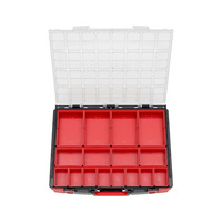 System-Koffer 8.4.1 transparent Leersortiment
