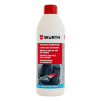 Solvent-free leather care agent