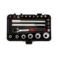 1/4 inch multi-socket wrench assortment, mini