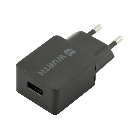Netzstecker USB-Ladegerät 2,4 A - NETZSTE-SINGLE-5V-2,4A-USB