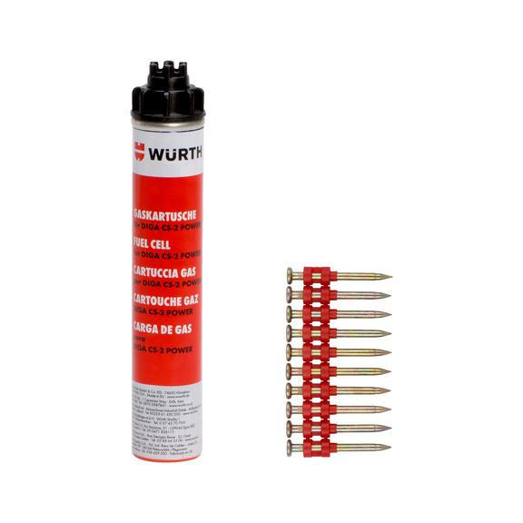 Chiodi a striscia e cartuccia a gas NG CS-2 HFB - 1