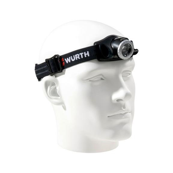 LED-Stirnleuchte wiederaufladbar High-Power SL4R - STIRNLEUCHT-AKKU-SL4R-LED-300LUMEN