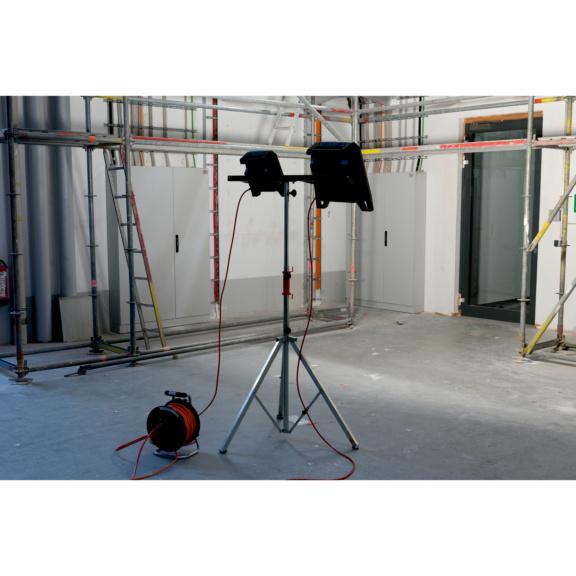 LED-Arbeitsleuchte Powerquad - LEUCHT-LED-2STECKDOSEN-(POWERQUAD-M)