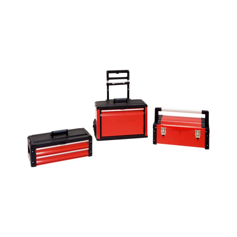 Servante professionnelle 3 en 1 - TROLLEY TOOL BOX 3PCS - 720X520X320MM