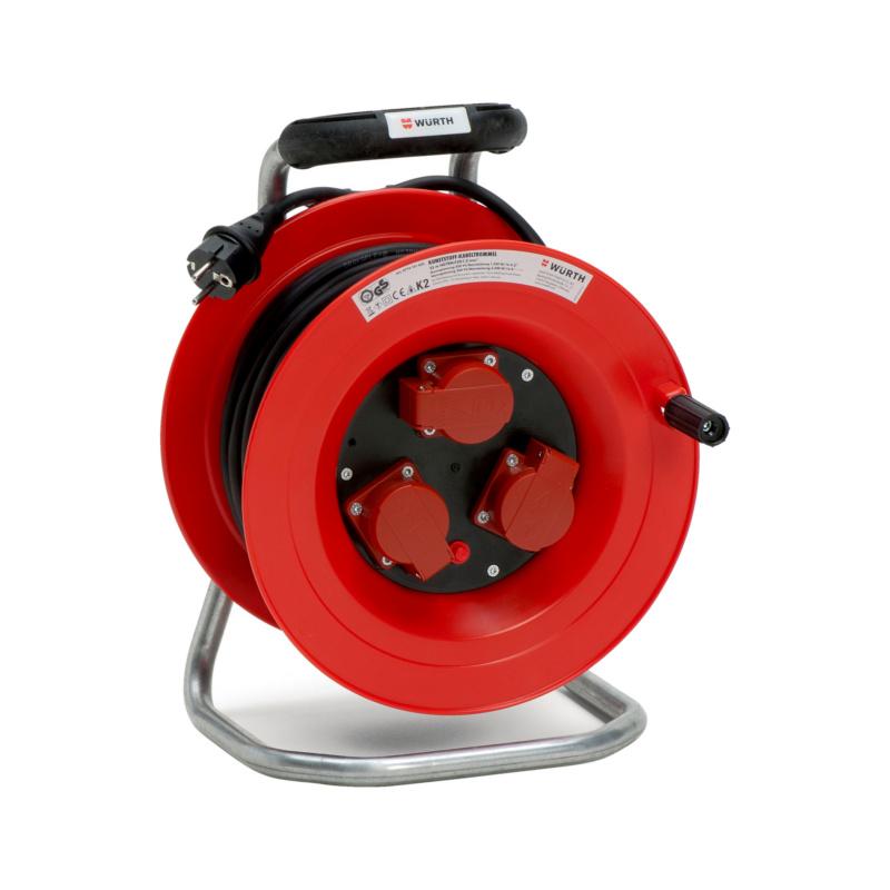 Kunststoff-Kabeltrommel 250 V - KBLTROMMEL-KST-(H07RN-F3G1,5)-40M