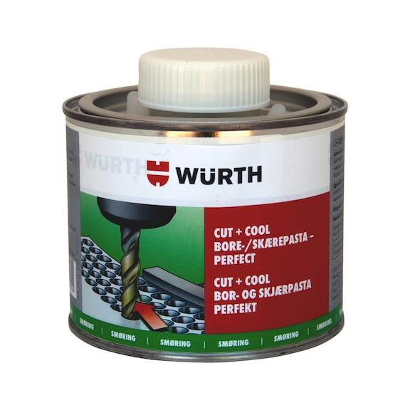 BORE- OG SKÆREPASTA CUT & COOL PERFECT Bore- og skærepasta, som giver optimale resultater og sikkerhed for alle materialer og anvendelsesområder. 500 g