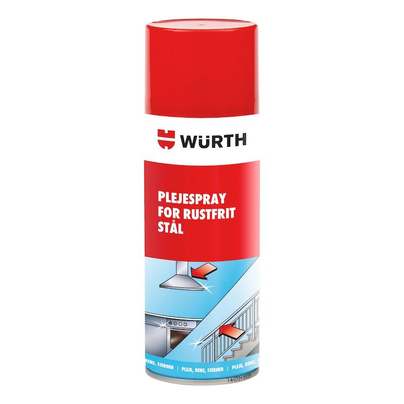Plejespray til rustfrit stål - PLEJESPRAY FOR RUSTFRIT STÅL, 400 ML