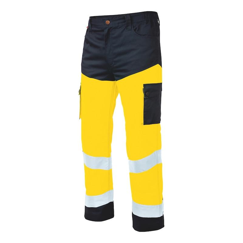 Pantalon de travail Würth MODYF haute-visibilité jaune/marine