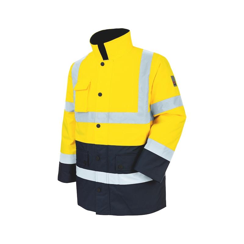 Parka de travail Würth MODYF haute-visibilité jaune/marine - PARKA HAUTE VISIBILITE JAUNE/MARINE L