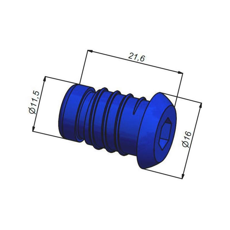 Bouchon de test pression Pour tubes multicouches Ø16 et 20 mm - 2