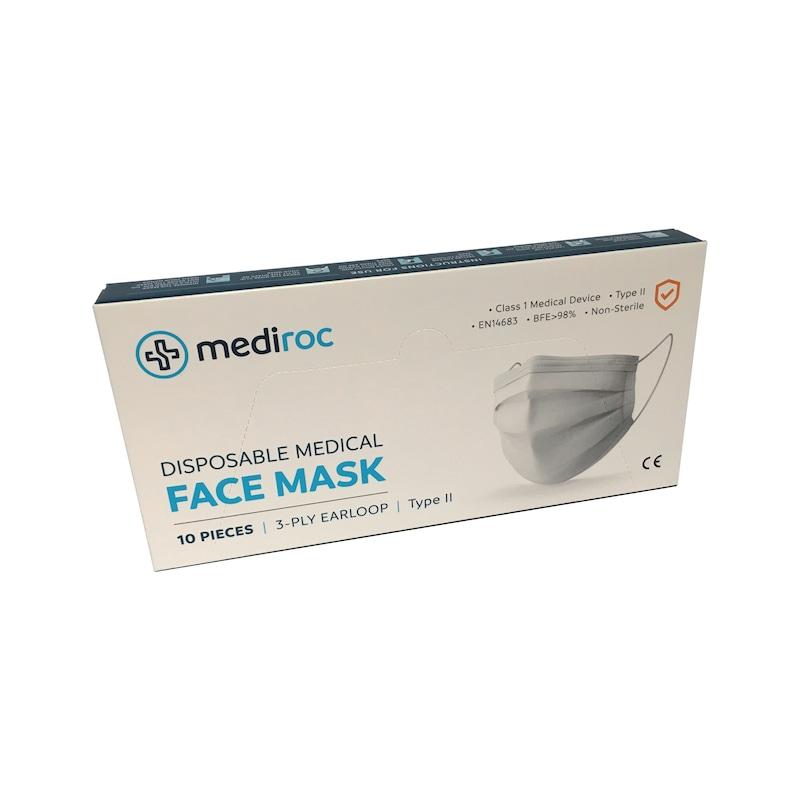 Masque chirurgical MEDIROC