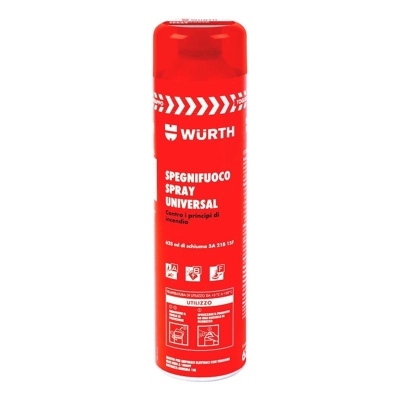 Spegnifuoco spray, universale
