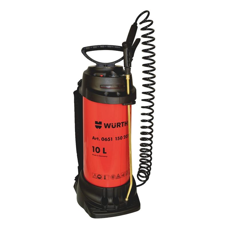 Pulverizador de óleo descofrante - BOMBA DE PRESSAO METALICA 10 L