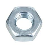 Hexagon nut, fine thread
