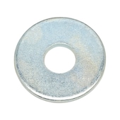Washer for wood construction