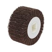 Rullo abrasivo, tela/feltro