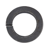 Serrated lock rings