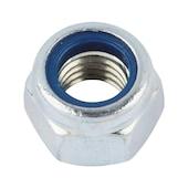 Self-locking hexagon nut
