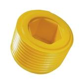 Plastic sealing plugs