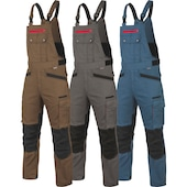 Work dungarees