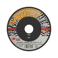 Speed cutting disc for non-ferrous metals/aluminium