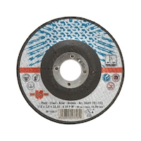 Cutting disc for steel