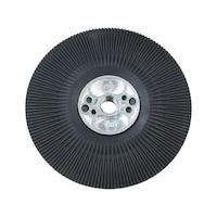Опорная пластина для дисков из вулканизированного волокна с охлаждающими канавками