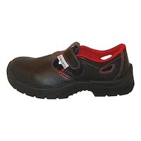 S1P Yazlık Cırtlı İş Ayakkabısı Siyah
